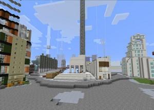 Järntorget i den gamle bydel Gamla Stan i Stockholm - som Minecraftfolket forestiller sig det.