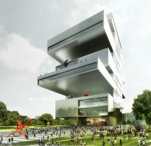 Det kommende National Center for Contemporary Art i Moskva