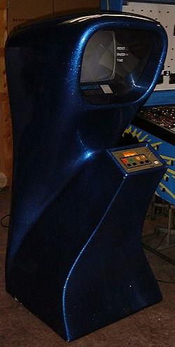 Computer Space fra november 1971 er blandt de ældste oplistede computerspil.