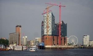 Fra byggeriet i 2012.