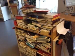 Københavns Hovedbibliotek, Krystalgade. September 2014.  Foto: Lars Andrén.