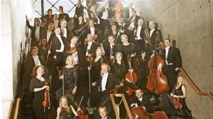 """""""I dag er det et af Europas bedste kammerorkestre, som arbejder i næsten alle musikalske genrer, """" står der med store bogstaver på DR's hjemmeside. Foto: DR."""
