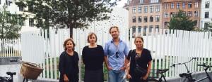 Mette Sø, Louise Kringelbach, Jakob Melander og Jeanette Øbro er forfatterne bag ny efteruddannelse.
