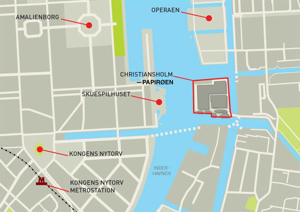 Papirøen midt i Københavns havn. Copenhagen Street Food.