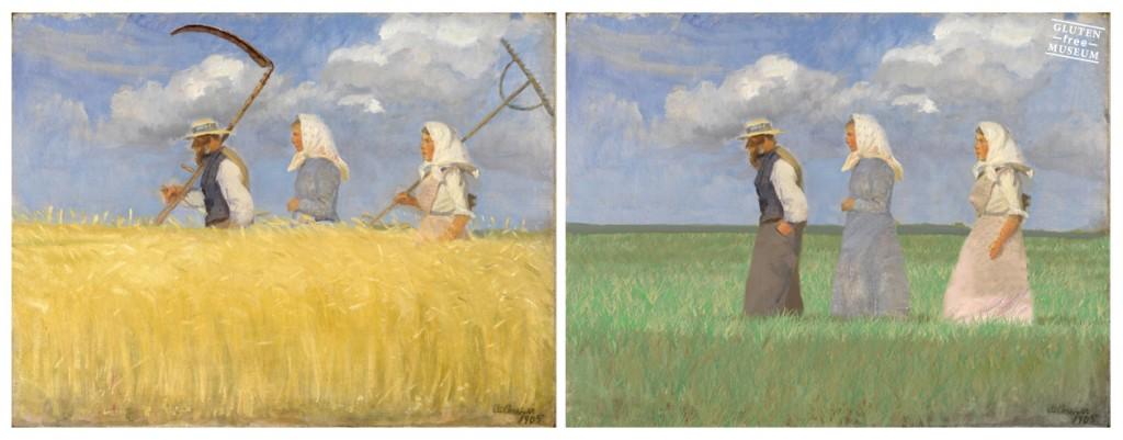 Anna Ancher - nu uden hvede