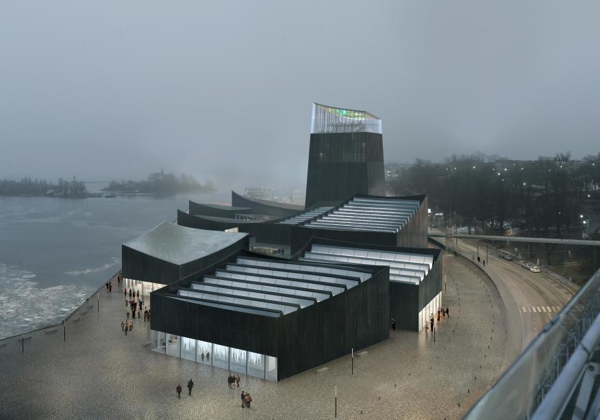 Sådan kunne det komme til at se ud, Guggenheim i Helsinki.