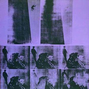 Andy Warhols Suicide (Purple Jumping Man) er måske blandt de værker der bliver vist til Berlin?