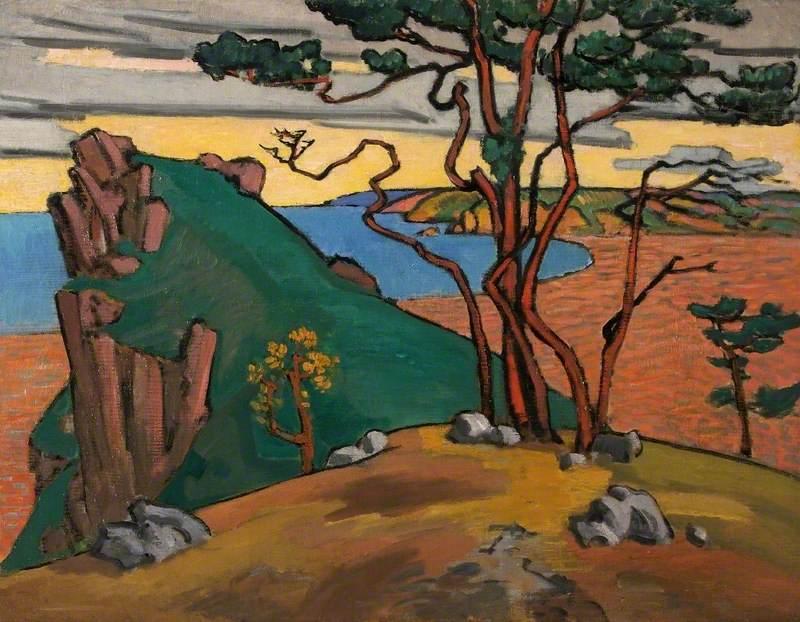 Fry, Roger Eliot; The Black Sea Coast; Swindon Art Gallery; http://www.artuk.org/artworks/the-black-sea-coast-64572