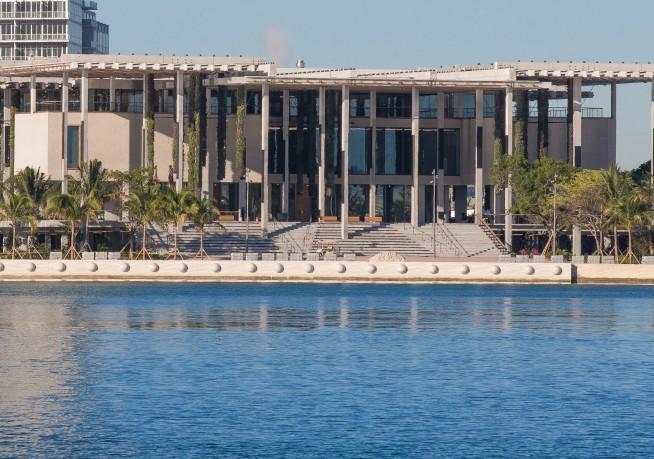 The Perez Art Museum Miami tegnet af Herzog & de Meuron. Publ