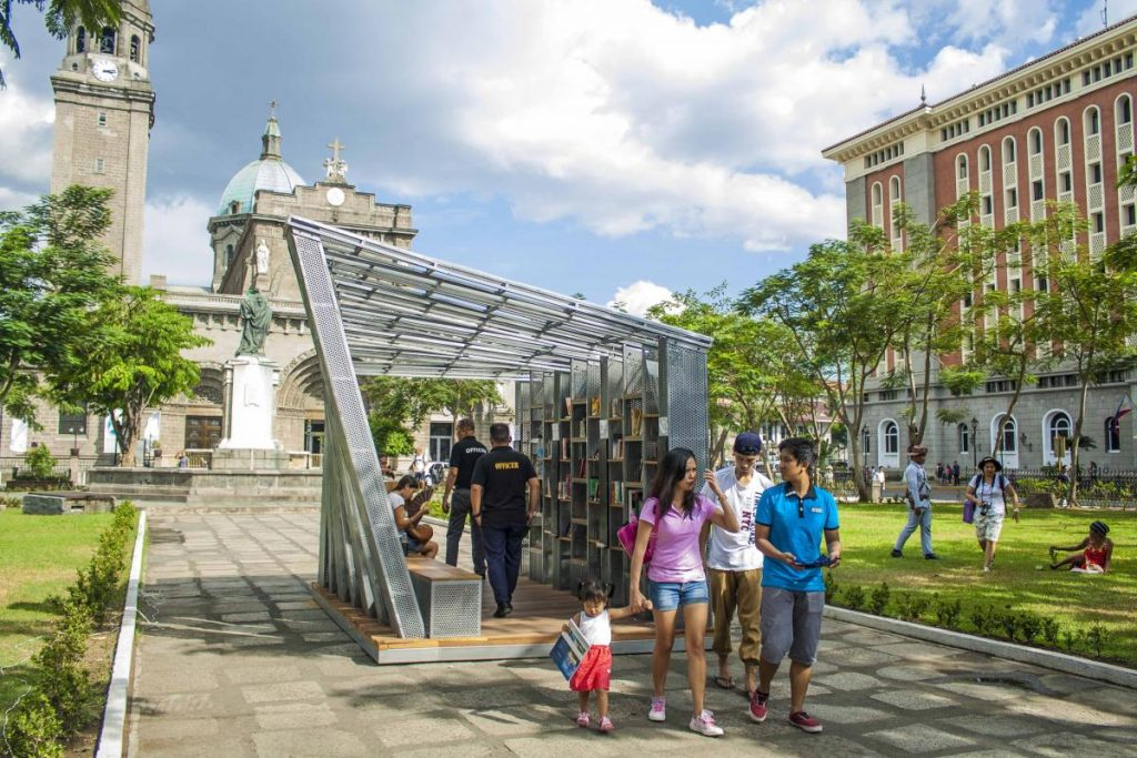 WTA Architecture and Design Studio The Book Stop Project Makati, Philippines